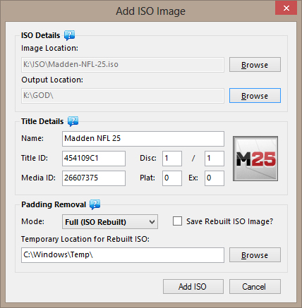 1.3.3 TÉLÉCHARGER ISO2GOD